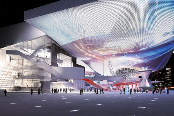 10420 5 cloud9f 600x400 Amazing Urban Plaza for Contemporary Culture in South Korea
