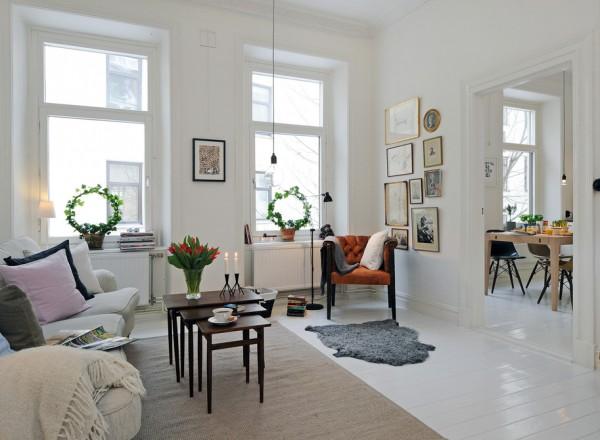 30 Beautiful Scandinavian Living Rooms With Inspiring