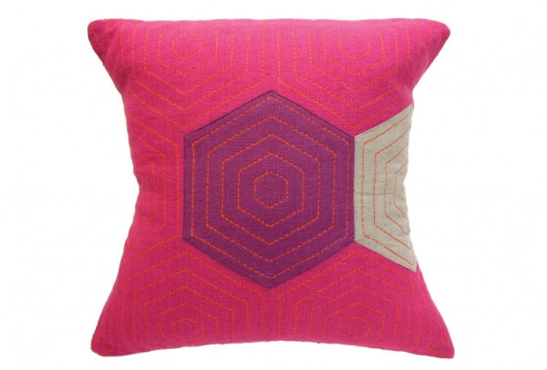 38d 600x406 Handmade Vibrantly Coloured Cushions
