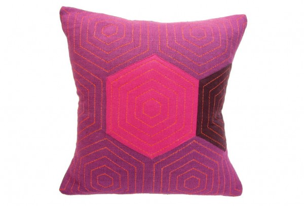 39b 600x406 Handmade Vibrantly Coloured Cushions