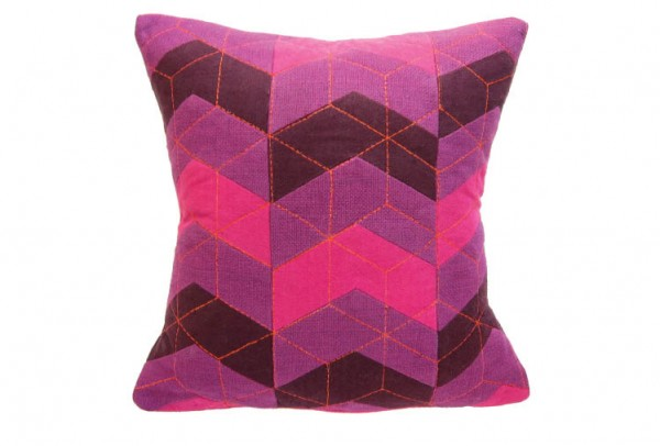 39c 600x406 Handmade Vibrantly Coloured Cushions