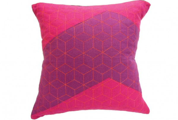 3a0 600x406 Handmade Vibrantly Coloured Cushions