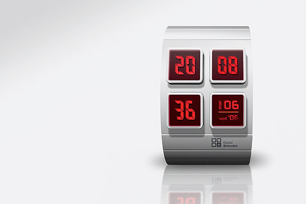 4d watch 15 Stunning Futuristic Watches Concept Designs