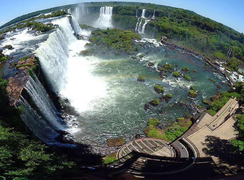800px Iguazu D%C3%A9cembre 2007   Panorama 3 100 Most Famous Landmarks Around the World