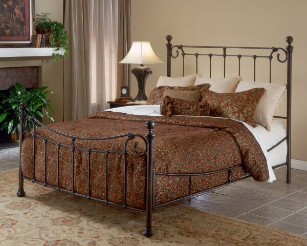 Brown Metal Bedroom Design Bedroom with Metal Beds
