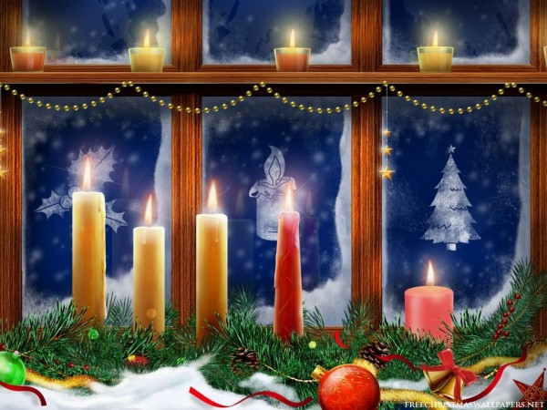 Christmas candle decoration 10 600x450 Candle Making and Decorating Ideas for Christmas