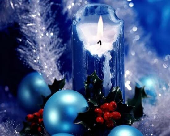 Christmas candle decoration Candle Making and Decorating Ideas for Christmas
