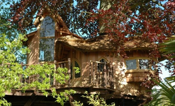 DSC 0005 gallery image 600x364 Outstanding Luxury Tree Houses Designs by Blue Forest