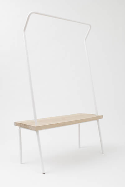 Fougere 4 Create More Space with Bench Rack by Vik & Fougere