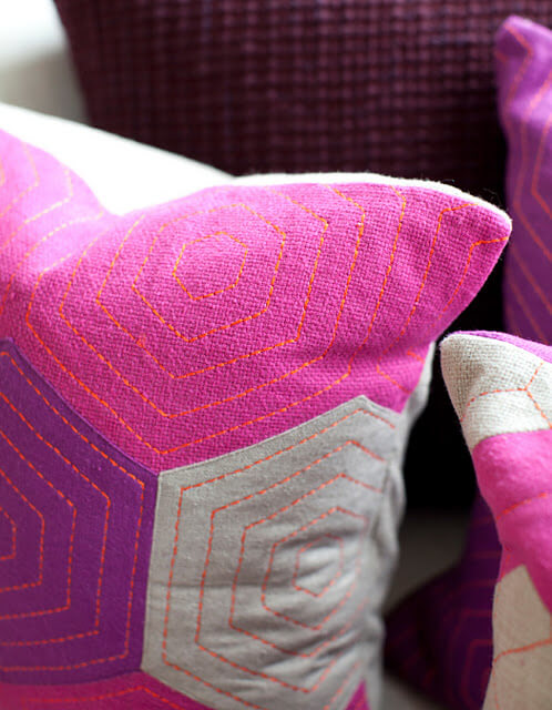 Provide Made2 Handmade Vibrantly Coloured Cushions
