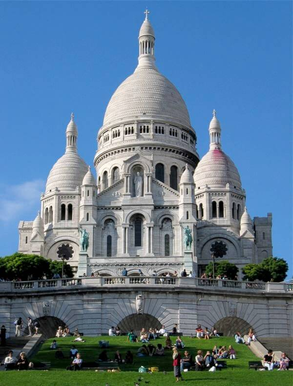 Sacre Coeur Paris 100 Most Famous Landmarks Around the World