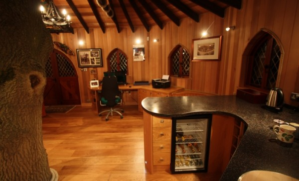 Tree House Office 4 gallery image 600x364 Outstanding Luxury Tree Houses Designs by Blue Forest