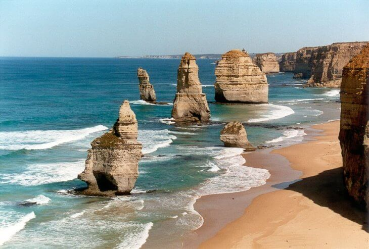 Twelve apostles in Australia 100 Most Famous Landmarks Around the World