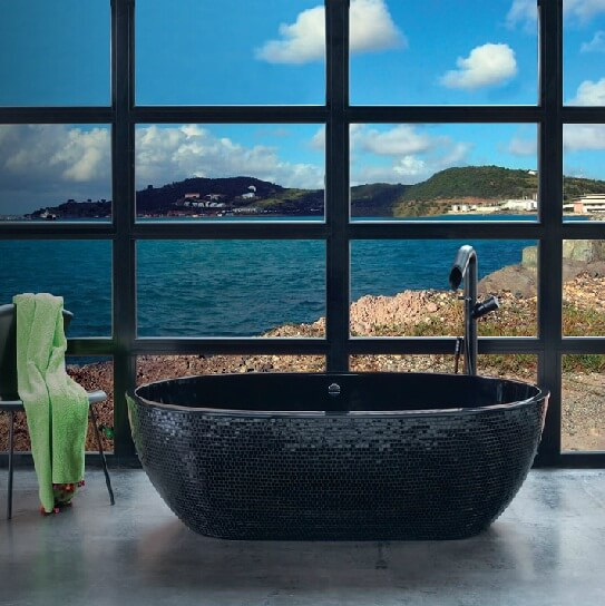 bathtub06 Contemporary Bathtubs Designs by Aquamass
