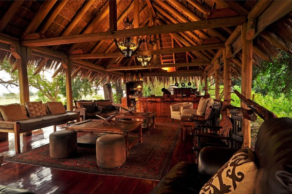 jao resort safari 11 600x398 African Interior Design at Jao Camp Safari Resort