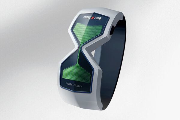 sand and time watch01 15 Stunning Futuristic Watches Concept Designs