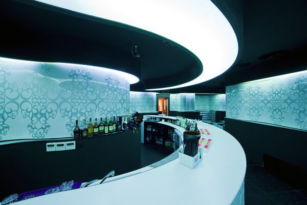 shade club1 Modern and Glamorous Design Defining a Club in Bucharest, Romania
