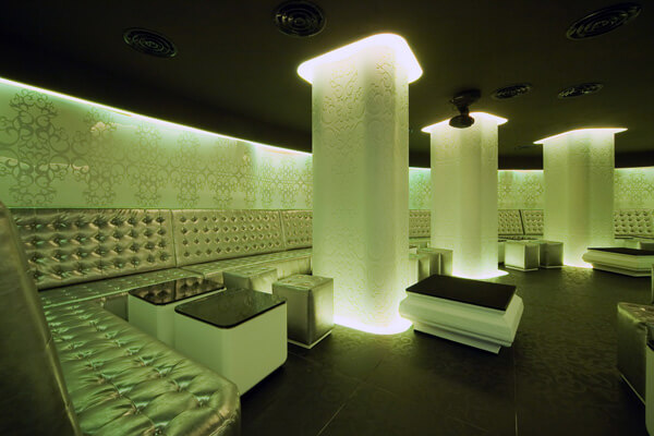 shade club4 Modern and Glamorous Design Defining a Club in Bucharest, Romania