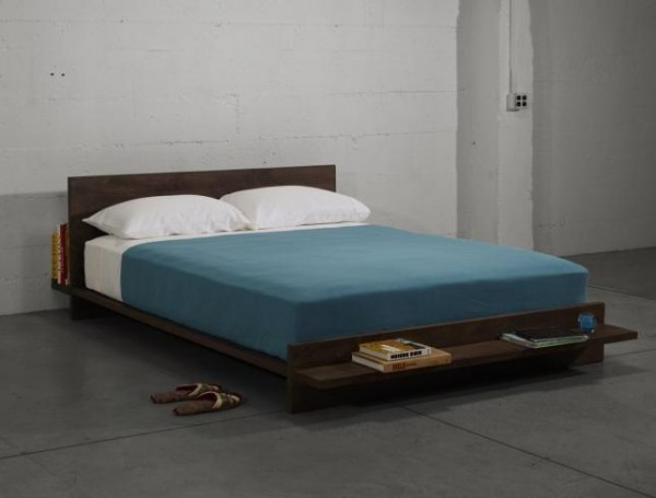 shelf bed 600x455 Simple 2 in 1 Bed Solution by Herbst Produkt