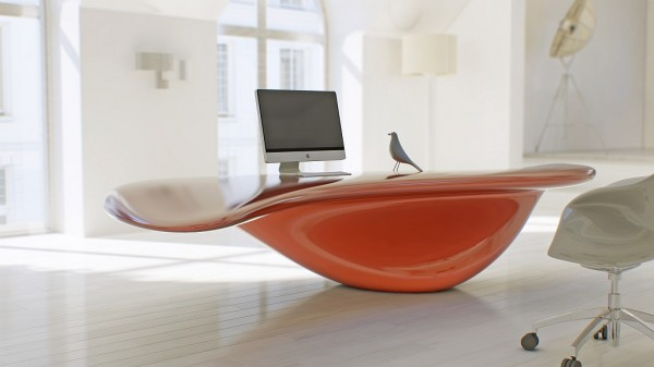 Futuristic Design Combining New Technologies And Modern Materials