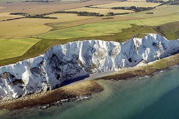 white cliffs of dover 100 Most Famous Landmarks Around the World