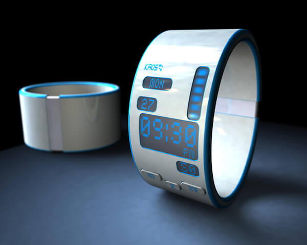 Futuristic Wrist Watch