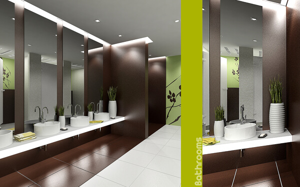 Decorating Ideas To Design A Bathroom Interior