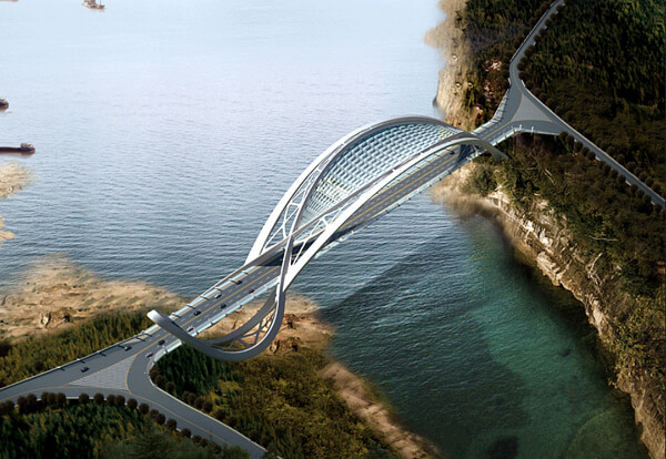 1eco bridge Amazing Creative Structure for Eco Bridge by Taranta Creations