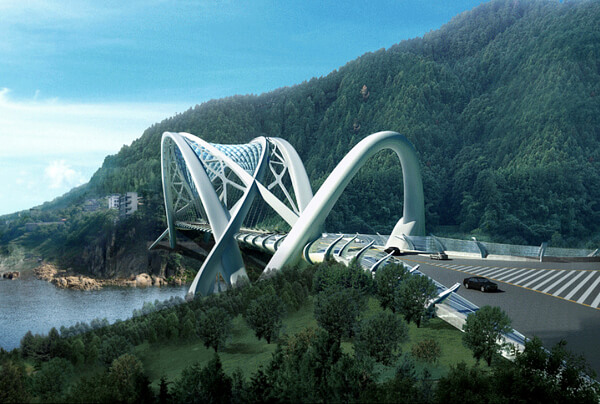 2eco bridge Amazing Creative Structure for Eco Bridge by Taranta Creations