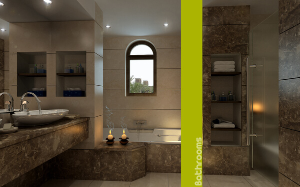 4 bathroom decorating Decorating Ideas to Design a Bathroom