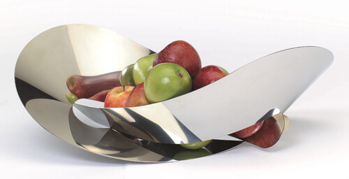 Flatknot With Apple 20 Delightful Fruit Bowls with Creative Designs