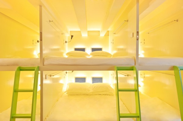 Matchbox The Concept Hostel Singapore Hostels for Design Lovers 600x398 8 of the Best Boutique Hostels Around the World