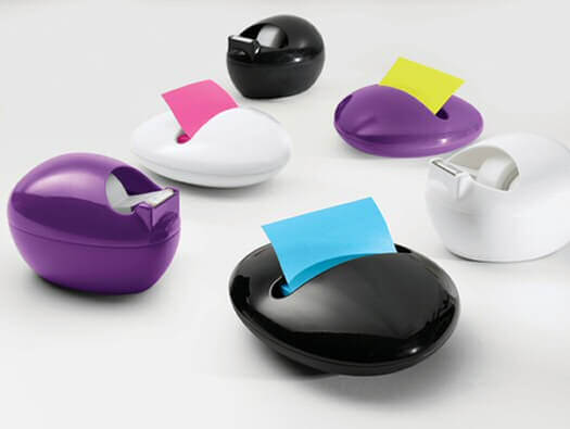 Pebble-Tape-Dispenser-and-Post-It-Holder-Karim-Rashid