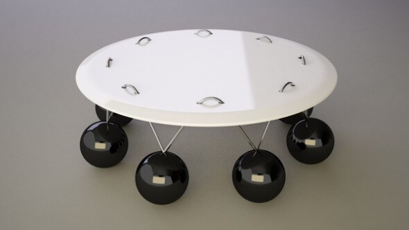 Pendulum Coffee Table1 21 Unique Coffee Tables Designs