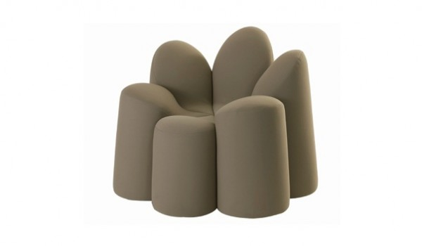 Roche Bobois Mayflower031 600x350 Adorable Flower Shaped Armchair by Roche Bobois