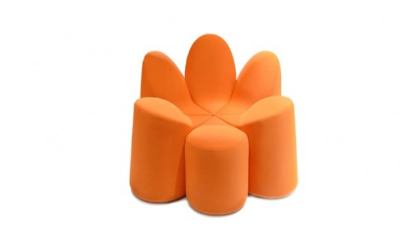 Roche Bobois Mayflower06 600x351 Adorable Flower Shaped Armchair by Roche Bobois