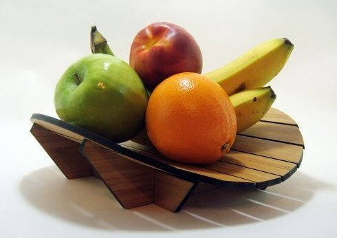 bamboo fruit bowl 20 Delightful Fruit Bowls with Creative Designs