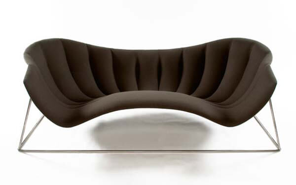calypso loveseat3 Add More Passion to Your Interior with Attractive Modern Loveseats