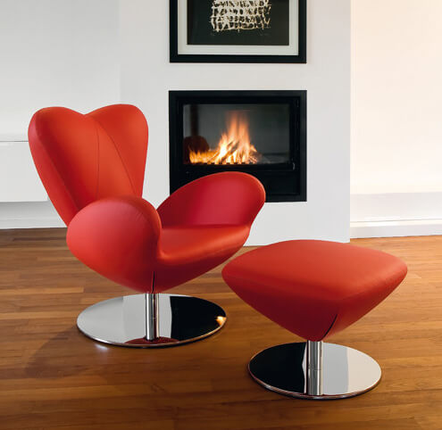 chair heartbreaker 1 Add More Passion to Your Interior with Attractive Modern Loveseats