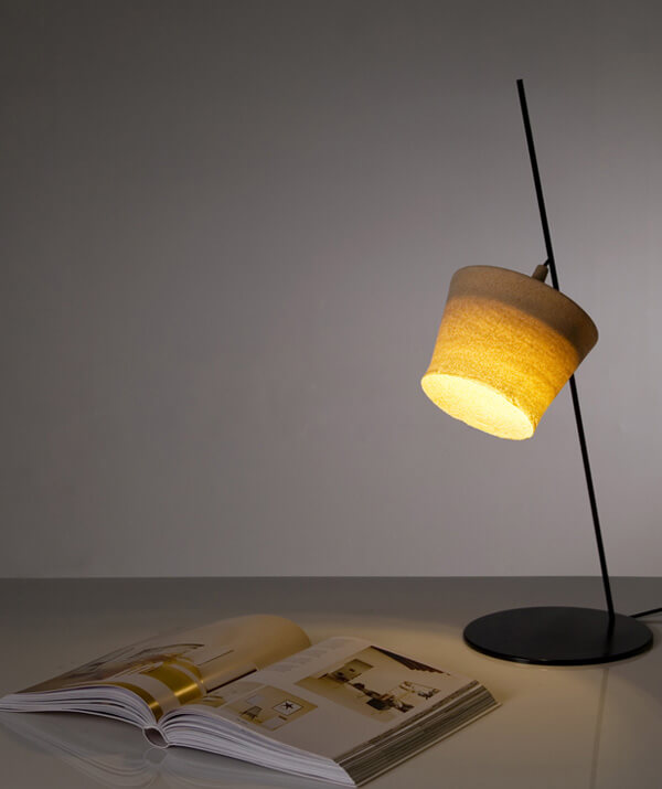desert storm Original Standing Lamp Inspired by Desert