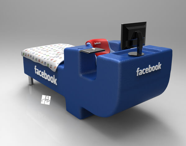 facebook bed concept04 Intriguing Facebook Bed Concept