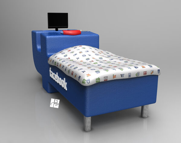 facebook bed concept05 Intriguing Facebook Bed Concept