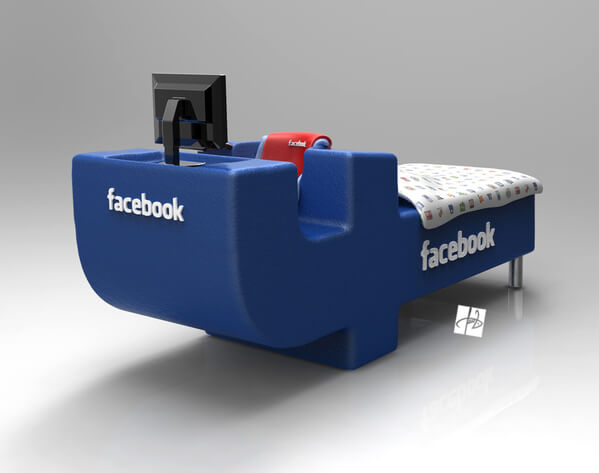 facebook bed concept06 Intriguing Facebook Bed Concept