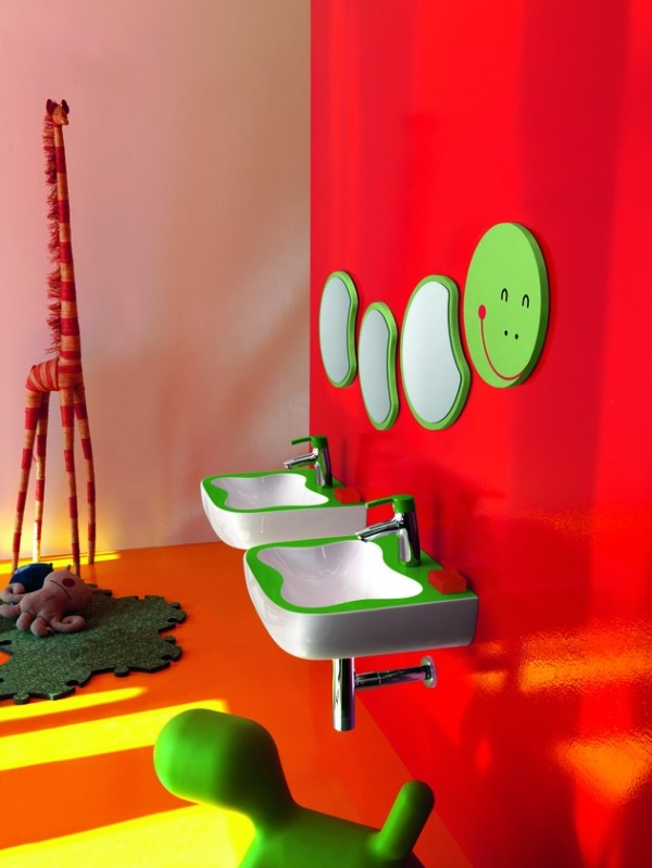 florakids04 600x799 Amazing Kids Bathroom Design from Laufen