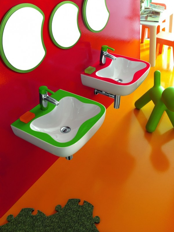 florakids05 600x799 Amazing Kids Bathroom Design from Laufen