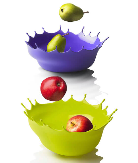 fruit bowl menu drop 20 Delightful Fruit Bowls with Creative Designs