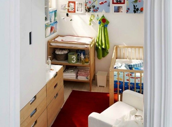 ikea kids bedroom02 600x446 Cheerful Children Rooms with Plenty of Inspiring Details