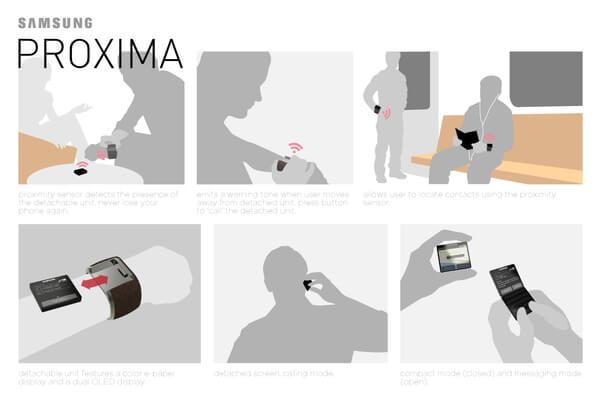 proxima samsung01 Stylish Samsung Proxima Concept by Johan Loekito