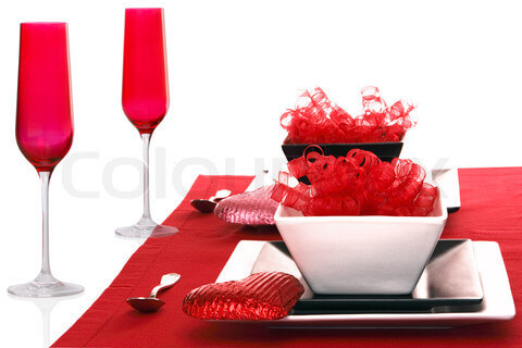 romantic dinner valentines Romantic Table Decorations Ideas for Valentines Day
