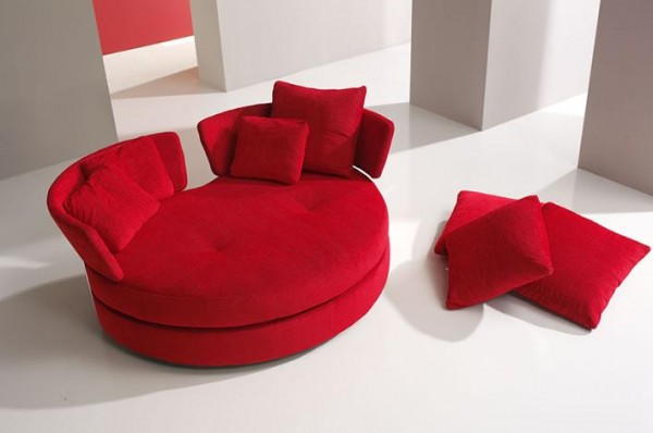 sofa myapple 600x398 Add More Passion to Your Interior with Attractive Modern Loveseats